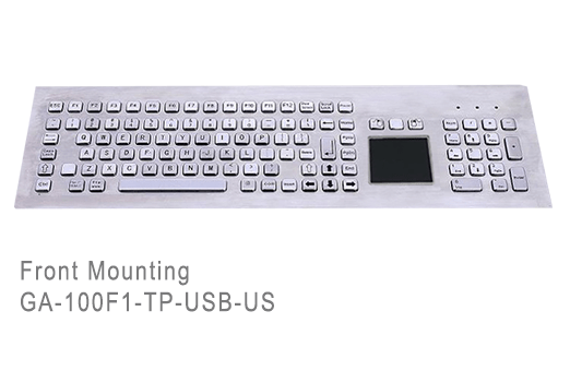 GA-Industrial-Competitive Range-100+Keys Touchpad Front Mounting
