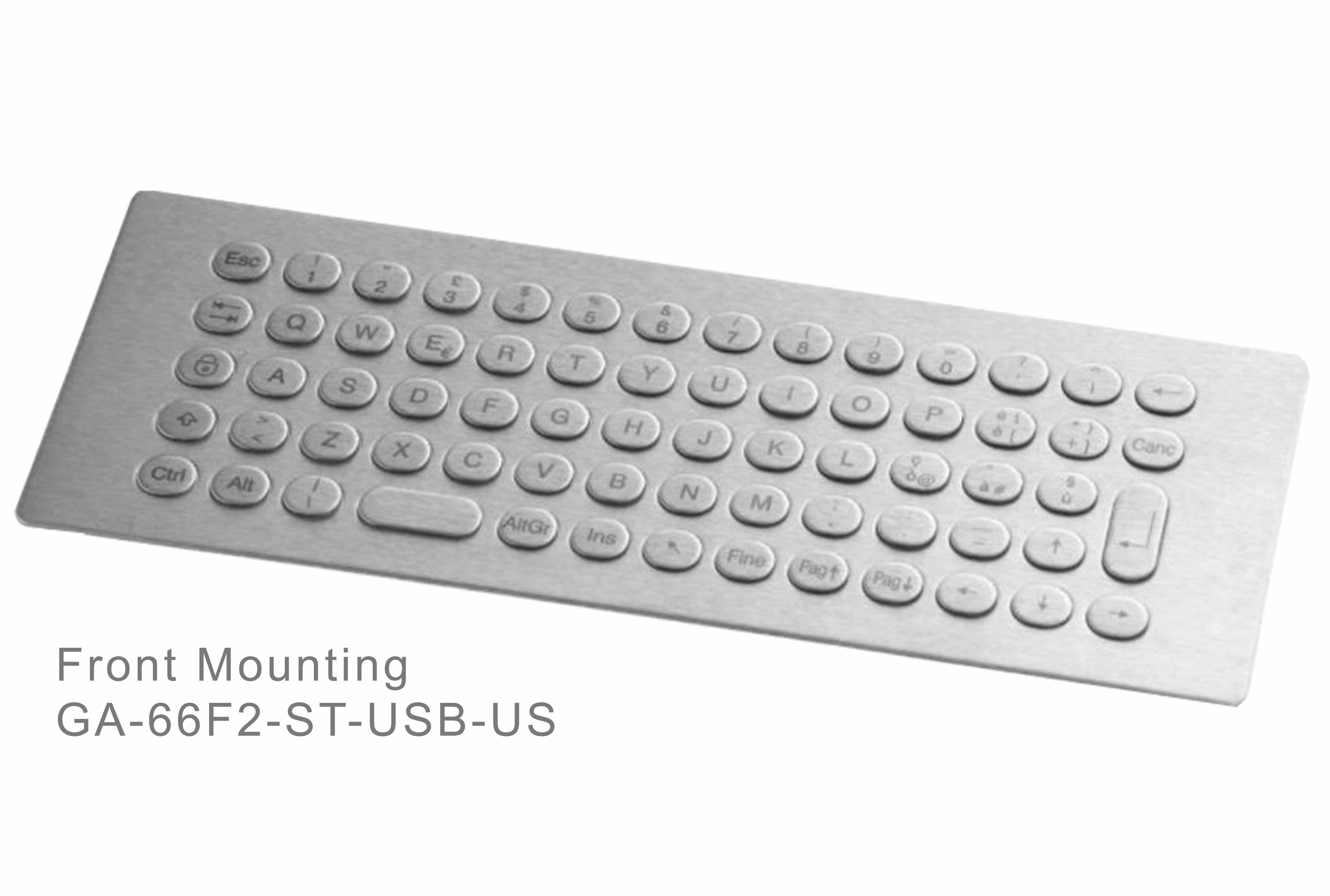 GA-Industrial-Italian Brand-60+Keys Front Mounting-L