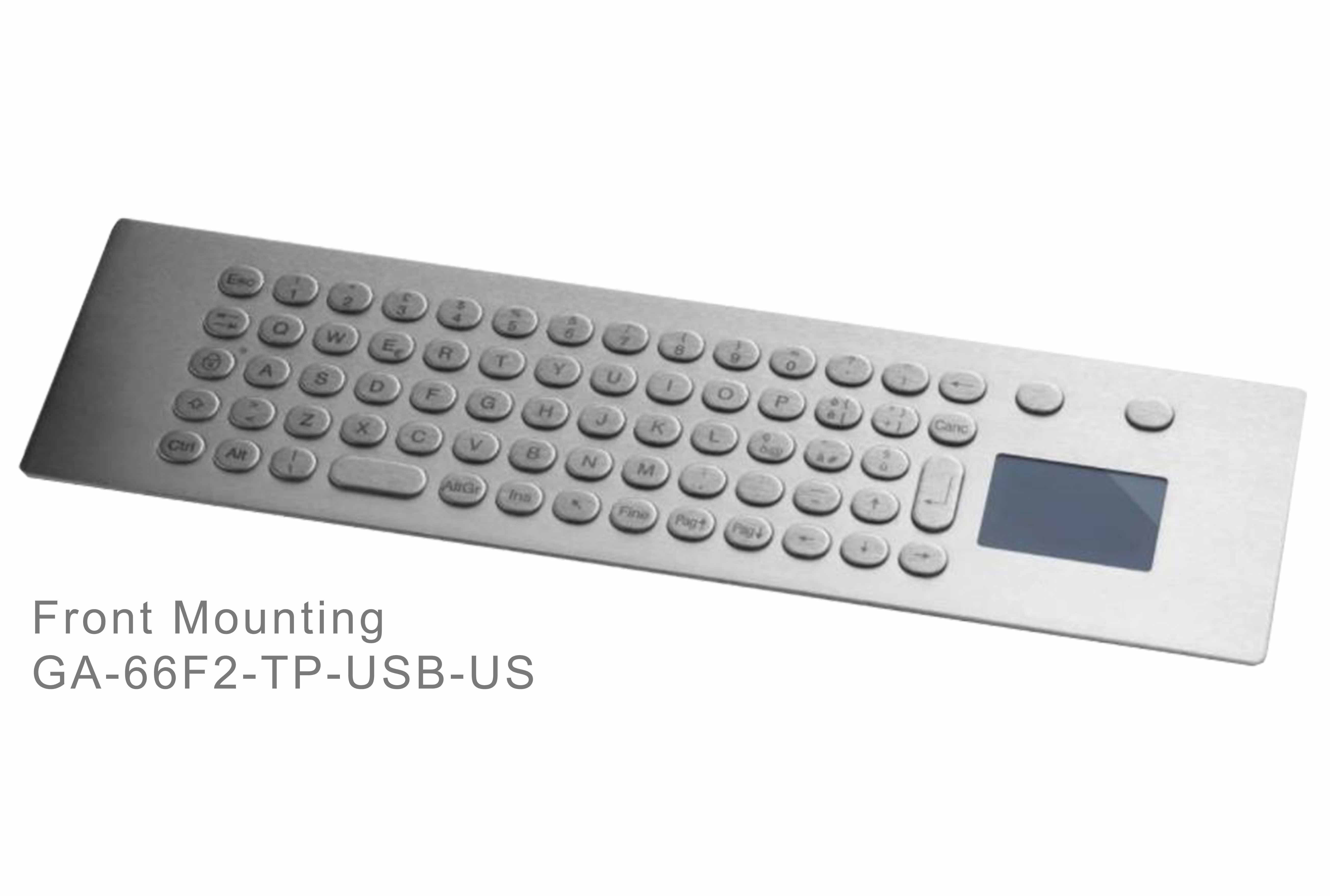 GA-Industrial-Italian Brand-60+Keys Touchpad Front Mounting-L